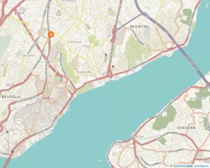 Halaskargazi Avenue, Istanbul (Source: Openstreetmaps)